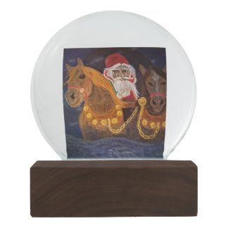 King Winter Has Arrived Snow Globes