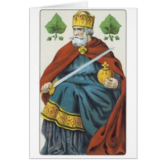 King With Sword Cards