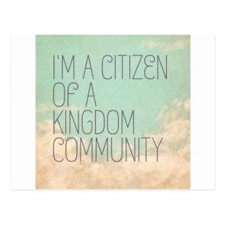 Kingdom Citizen Postcard