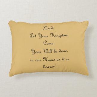 """""""Kingdom Come"""" throw pillow"""