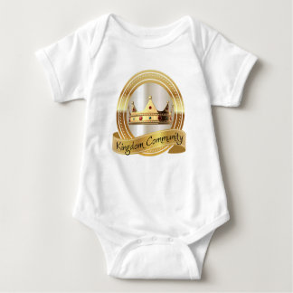 Kingdom Community Crown Baby Bodysuit