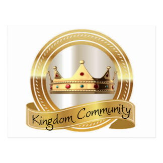 Kingdom Community Crown Postcard