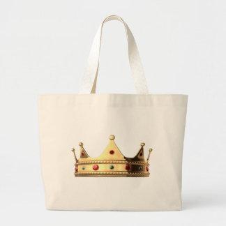 Kingdom Crown Large Tote Bag