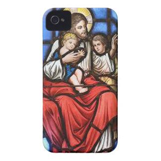 KINGDOM JESUS CRIST CATHOLIC 18 CUSTOMIZABLE PRODU iPhone 4 COVER