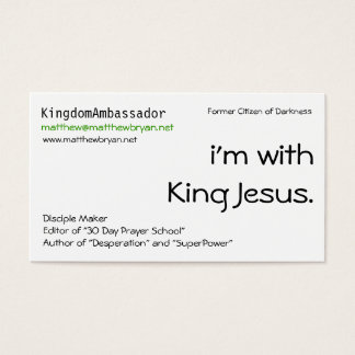 Kingdom Kard Business Card