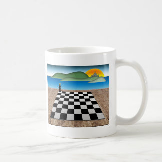 Kingdom of Chess Basic White Mug
