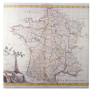Kingdom of France Large Square Tile