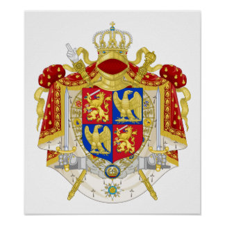 Kingdom of Holland Coat of Arms (1808) Poster