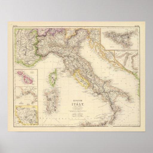 Kingdom of Italy Print