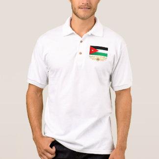 Kingdom of Jordan Flag (Arabic) Polo