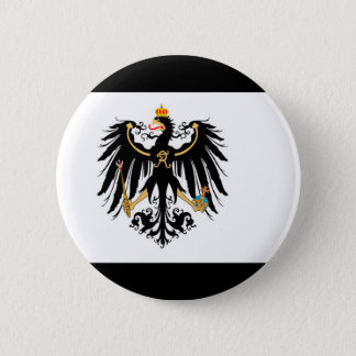 Kingdom of Prussia national flag 6 Cm Round Badge