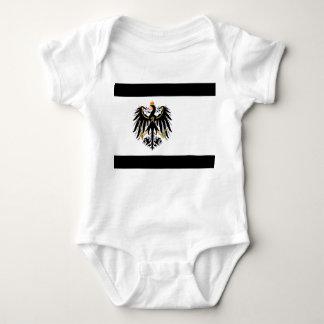 Kingdom of Prussia national flag Baby Bodysuit