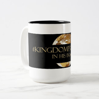 #KINGDOMPRENEUR- IN HIS IMAGE  TM Black Two-Tone Coffee Mug