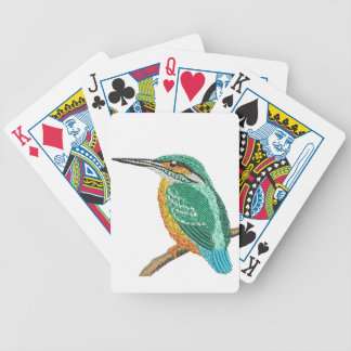 kingfisher bicycle playing cards