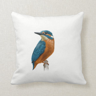 Kingfisher Bird Cushion