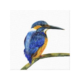 Kingfisher Bird Watercolour Painting Artwork Print