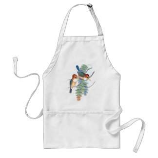 Kingfisher Birds Animals Wildlife Apron