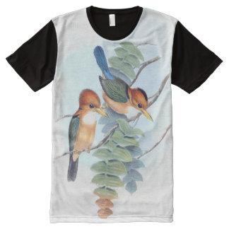 Kingfisher Birds Animals Wildlife T-Shirt