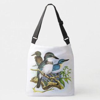 Kingfisher Birds Wildlife Animals Pond Tote Bag
