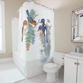 Kingfisher Birds Wildlife Animals Shower Curtain