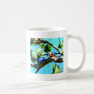 KINGFISHER IN TREE QUEENSLAND AUSTRALIA COFFEE MUG