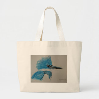 Kingfisher Large Tote Bag
