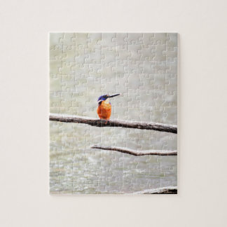 KINGFISHER QUEENSLAND AUSTRALIA JIGSAW PUZZLE