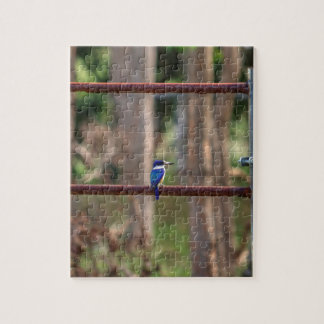 KINGFISHER RURAL QUEENSLAND AUSTRALIA JIGSAW PUZZLE