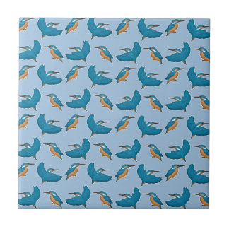 Kingfisher Small Square Tile