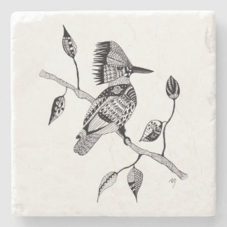 Kingfisher Stone Coaster