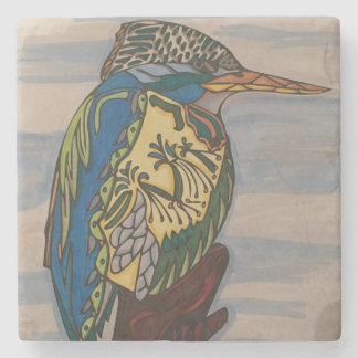 Kingfisher Stoneware Coaster