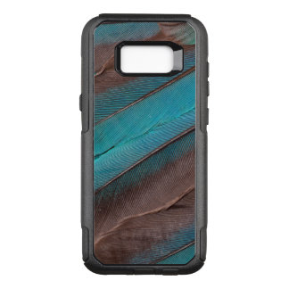 Kingfisher Wing Feathers OtterBox Commuter Samsung Galaxy S8+ Case