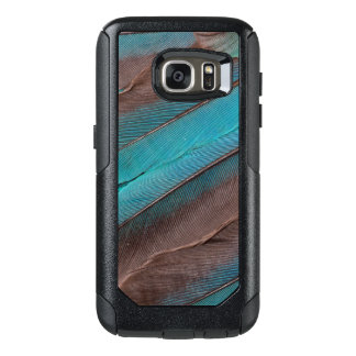 Kingfisher Wing Feathers OtterBox Samsung Galaxy S7 Case