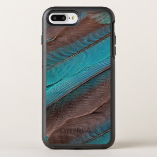 Kingfisher Wing Feathers OtterBox Symmetry iPhone 8 Plus/7 Plus Case