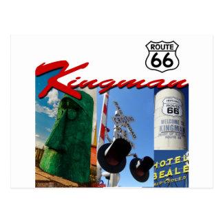 Kingman Arizona Route 66 Customize it! Postcard