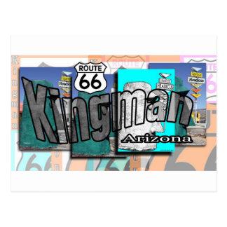 Kingman Arizona Route 66 Postcard
