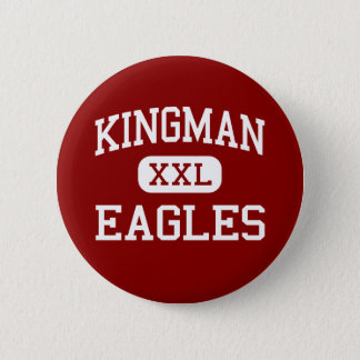 Kingman - Eagles - High School - Kingman Kansas 6 Cm Round Badge