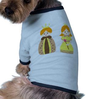 KingQueen3 Dog T Shirt