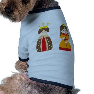 KingQueen4 Dog Tshirt