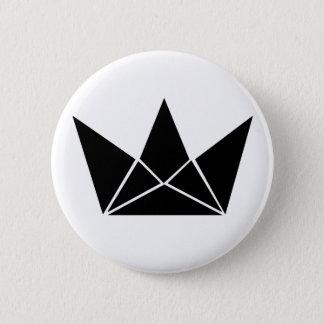 King's 6 Cm Round Badge