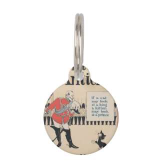 """""""KINGS AND KITTENS"""" PET NAME TAG"""