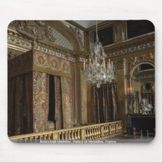 King's bed chamber, Palace of Versailles, France Mousepads