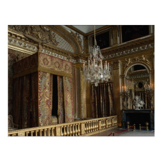King's bed chamber, Palace of Versailles, France Post Cards
