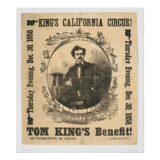 King's California Circus (0804A) Poster