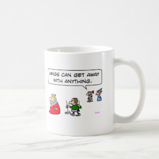 kings can get away with anything pooper-scooper coffee mug