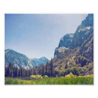 Kings Canyon Meadow Landscape | Poster