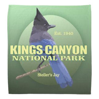 Kings Canyon NP (Steller's Jay) WT Bandana