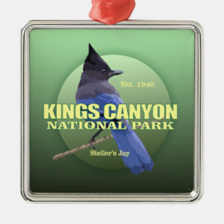 Kings Canyon NP (Steller's Jay) WT Metal Ornament
