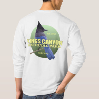 Kings Canyon NP (Steller's Jay) WT T-Shirt