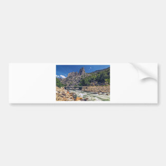 Kings Canyon Scenic Byway View Bumper Sticker